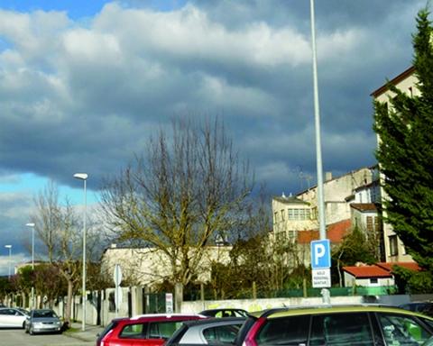 O Concello de Monforte de Lemos está a iniciar a mellora da iluminación nas rúas da cidade. (Arquivo EC).